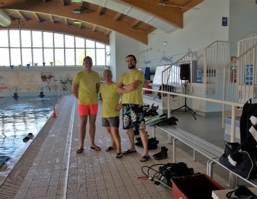 Settembre - Prove in piscina